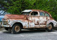 Slip for rust med undervognsbehandling